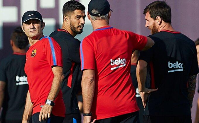 """Valverde: """"Igrače Barselone ne ometa kriza u Kataloniji"""""""