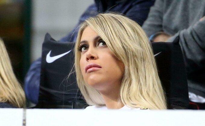 Vanda pomno pratila derbi, Ikardijev ulazak pokrenuo Inter, Kolarov pretio u finišu!