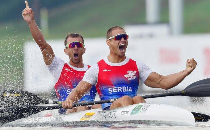 """Srpski kajakaši: """"Nekoliko staza bilo povlašćeno, ali smo zadovoljni bronzom!"""""""