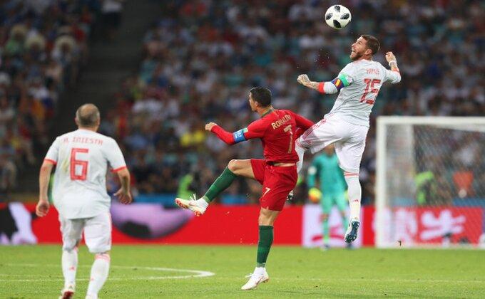 FUDBAL ZA BOGOVE! Sjajna Španija i fantastični Ronaldo za pirinejski remi!