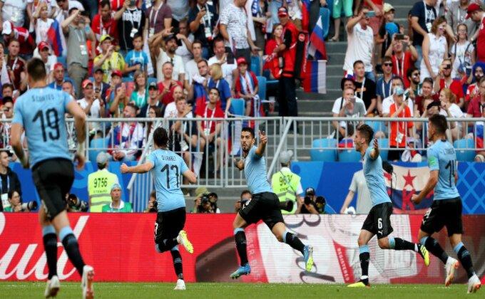 Urugvaj nadigrao domaćina, Salah ne može sam!