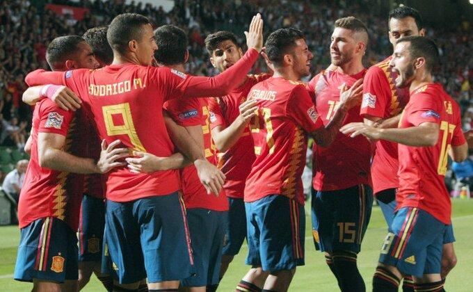 Liga nacija: Španci uništili vicešampione sveta, Belgija rutinski protiv Islanda!