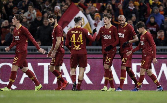 Serija A - Fudbalska sreća je pogledala Di Frančeska, pobeda u Rimu, ali moglo je i drugačije!