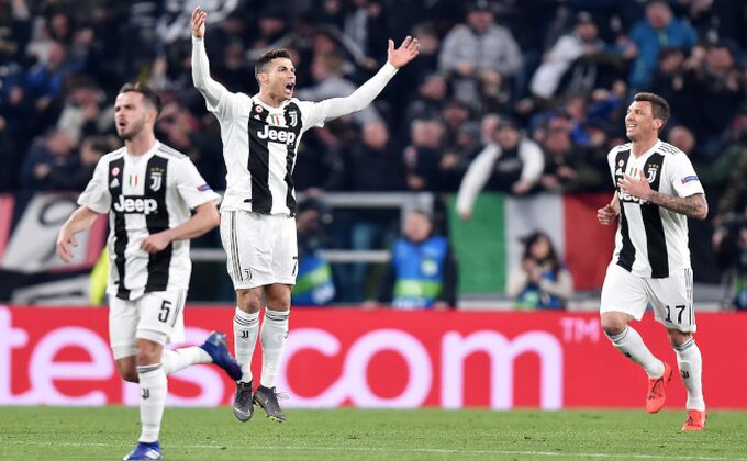 LŠ - Ronaldo može sve, sam odveo Juventus u četvrtfinale!