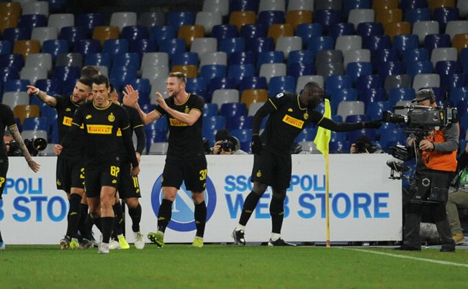 """Serija A - Ništa od derbija, """"neroazuri"""" se igrali sa nemoćnim Napolijem!"""