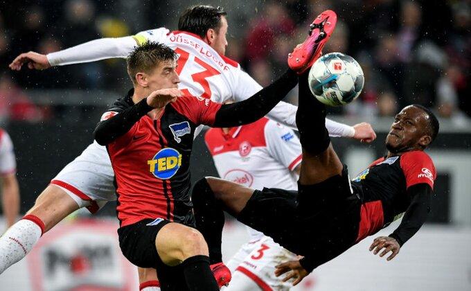 Bundesliga - Ludnica u Diseldorfu, Herta ustala iz mrtvih, nakon 0:3 mogla i do pobede!