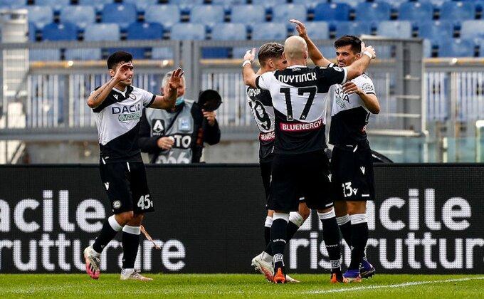 Serija A - Lacio ne može bez Sergeja, Udineze odneo bodove iz Rima!