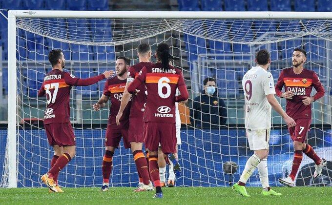 Serija A - Vanja i Lukić nemoćni na Olimpiku, Roma preti Juventusu!