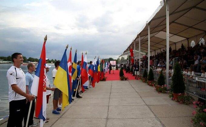 Svečano otvoreno Evropsko prvenstvo u veslanju