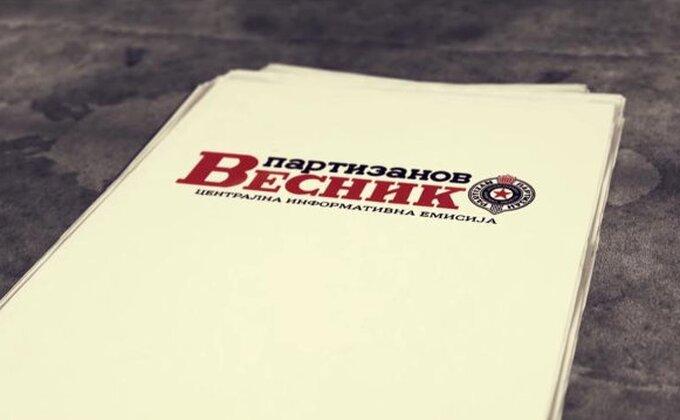 'Vesnik' uklonjen sa sajta - Partizan se ograđuje?