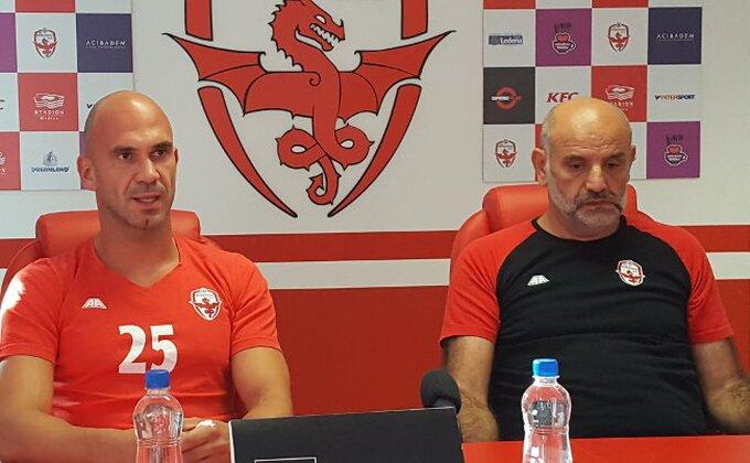 """Trener Voždovca: """"Nema krize, ali želimo još bolje"""""""