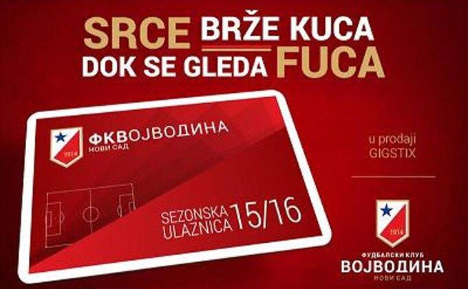 "Vojvodina - Sezona na ""Karađorđu"" za 3.000 dinara!"
