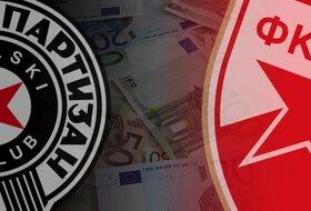 Kase sve punije - Koliko su Zvezda i Partizan zaradili sinoćnjim pobedama?