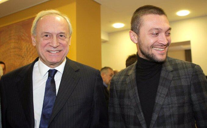 """Vučelić: """"Delujete mi nepobedivo, sreća Partizana je u vašim rukama"""""""