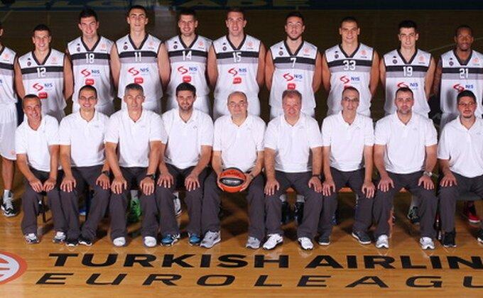 Partizan pred 'Grobarima' predstavio novi tim
