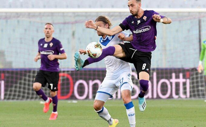 Fiorentina bez sreće, ovo je bilo Milanovo veče!