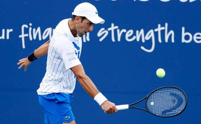 Novakova maestralna forma, Nemac arhiviran za polufinale!
