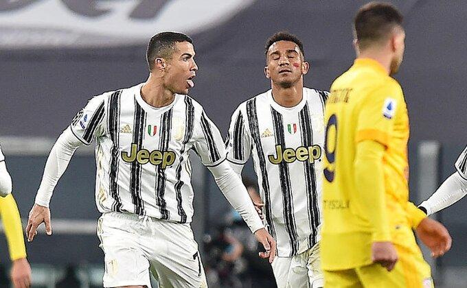 Maestro Ronaldo u Ibrinom stilu, Juventus za petama Milanu!