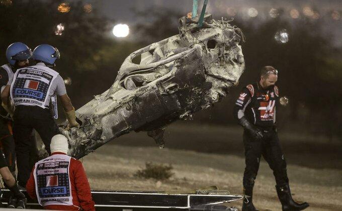 Prvi put na stazi od teške nesreće u Bahreinu, Grožan testira Mercedes