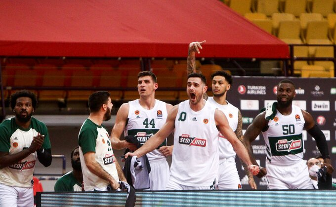 Panatinaikos izašao iz očajne serije, Papapetru prejak za Makabi