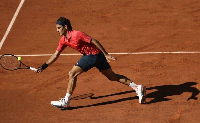 RG - Federer slab? Ovo je bilo rutinski!