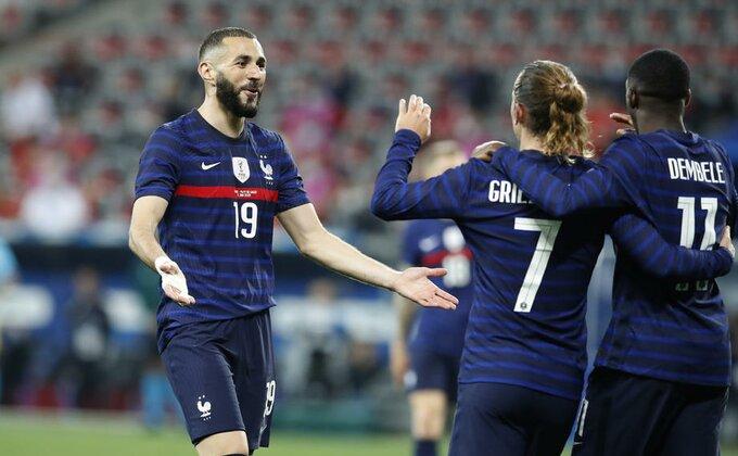 Dešan saopštio da li Benzema i Grizman igraju protiv Nemačke