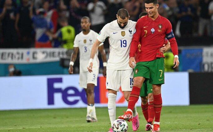 """Još jedan susret """"kraljevića"""" na EP, Benzema otkrio šta je pričao sa Ronaldom"""