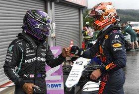 Pršti i pre trke - Ferstapenov srednji prst za Hamiltona!