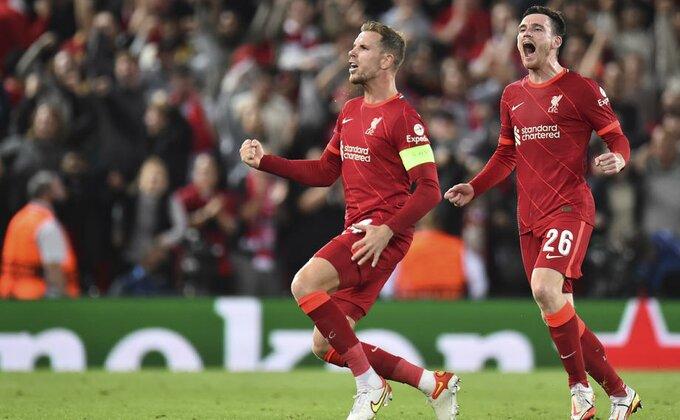 Liverpulu spektakl protiv Milana, Ale spakovao četiri Sportingu