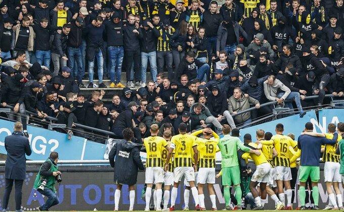 Posle urušavanja tribine na kom su bili navijači Vitesea, zatvoren stadion