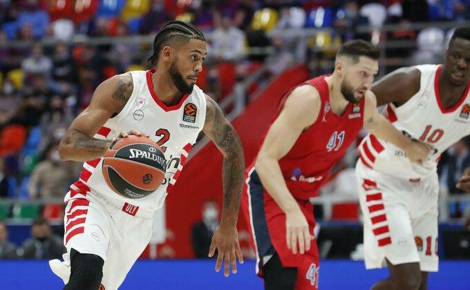 Moćni Dorsi nedovoljan da sruši CSKA, Olimpijakos poražen u Moskvi