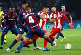 Atletiko ne zna sa Levanteom - Penali i Bardi izborili remi u Valensiji
