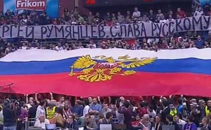 """BRAĆA - """"Delije"""" odale poštu ruskom heroju!"""