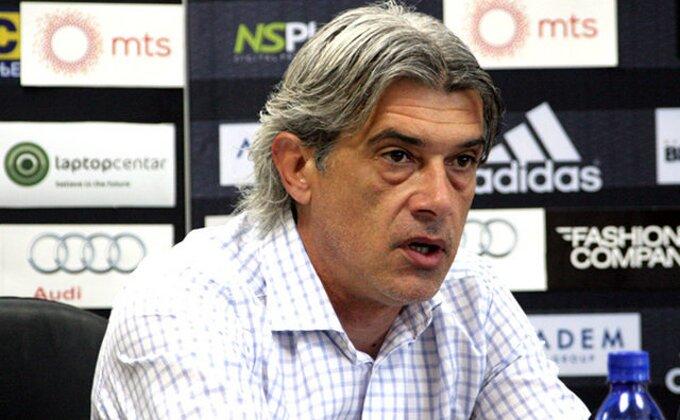 """Milinković: """"Smena? Pitajte ljude iz kluba"""""""