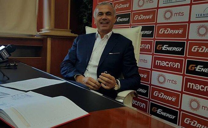 Oglasio se Zvezdan Terzić pohvalama o Partizanu