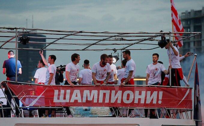 Zvezda nagrađena u Skupštini Srbije: ''Najbolja sportska organizacija u državi''