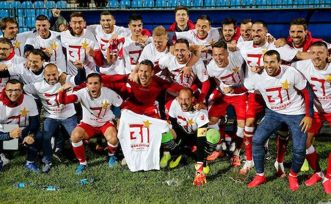 FOTO - Zvezdino šampionsko slavlje preselilo se sa Banjice na ''Marakanu''!