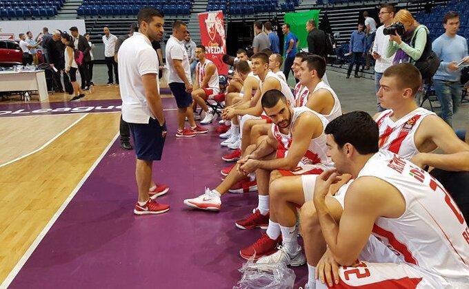 Zvezdin košarkaš na treningu odmah posle poraza od Budućnosti!